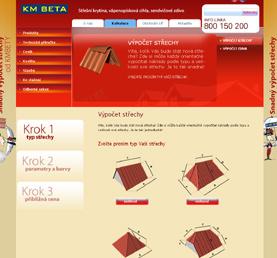 ukázka reference kalkulace střechy